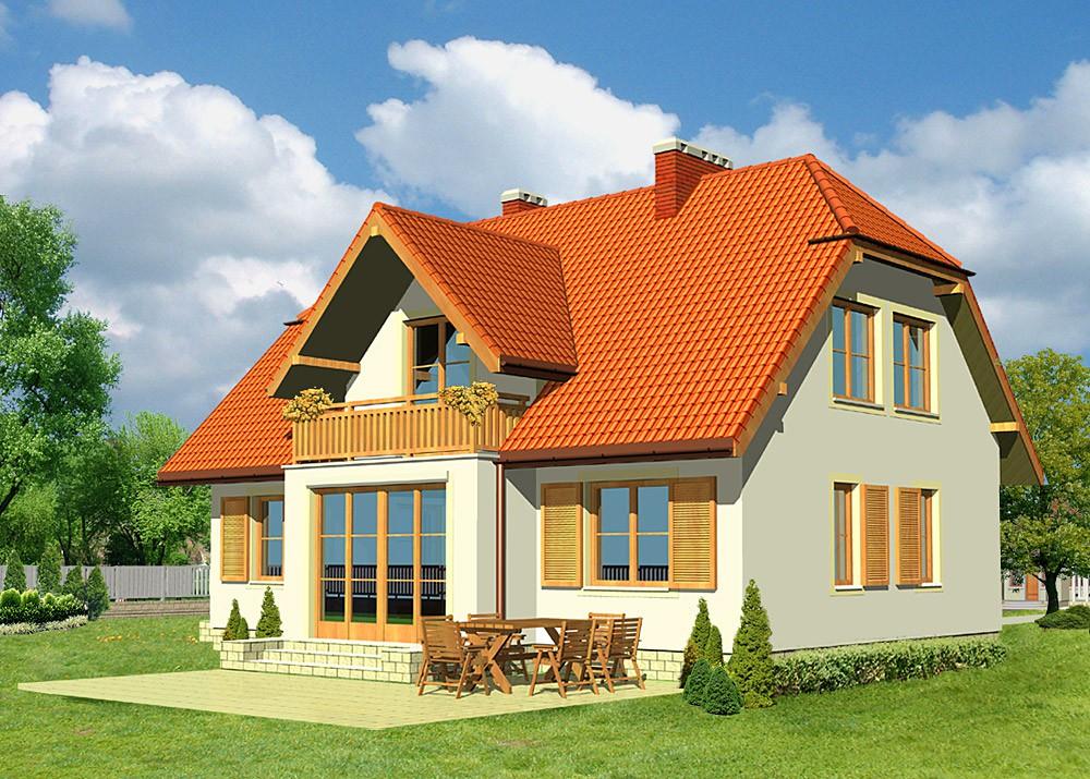 загородный дом 2021
